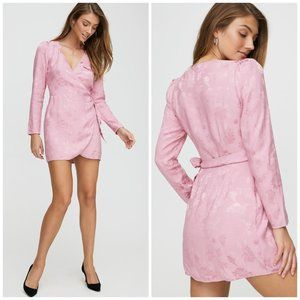 Aritzia Wilfred Callie Dress Wild Pink